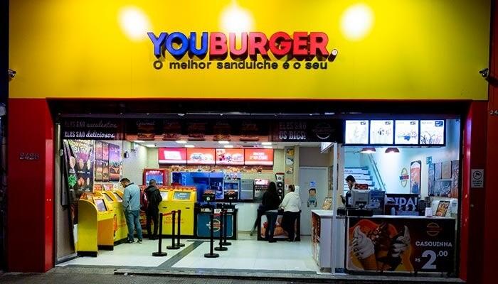 Ótimas franquias de alimentação - Youburger