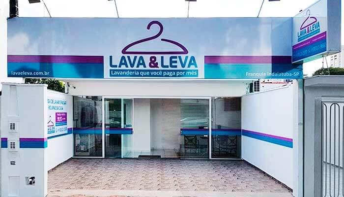 Franquias de serviços - lava e leva