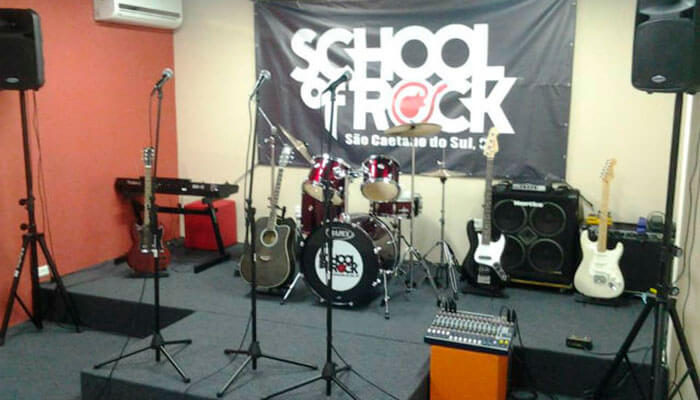 Franquias diferentes - School of Rock