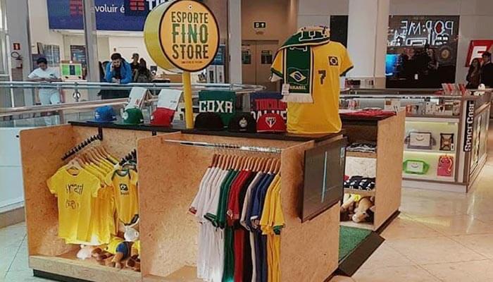 Franquias de futebol - Esporte Fino Store