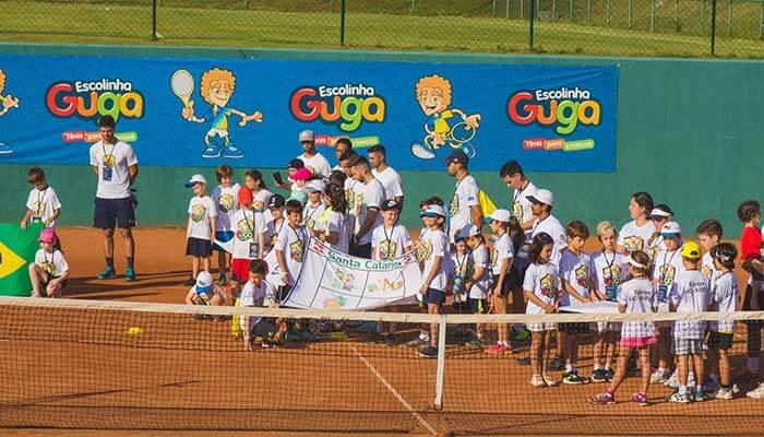 Franquias de escolas - Escola Guga Tênis