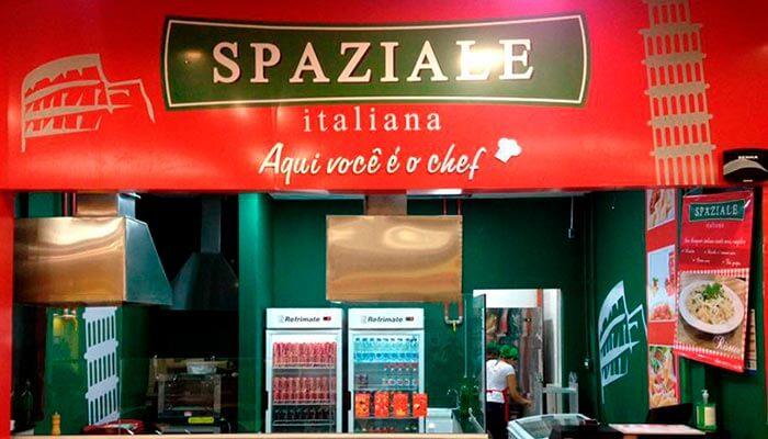 Franquias de comida italiana - Spaziale Italiana
