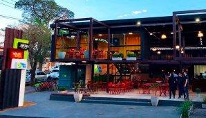 Grupo Halipar abre loja em container