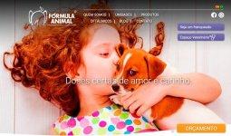 Fórmula Animal apresenta novo site