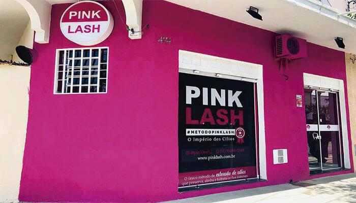 Franquia barata Pink Lash
