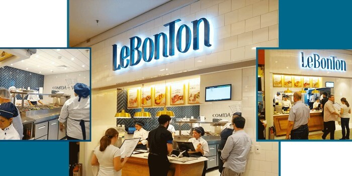 loja da franquia LeBonton