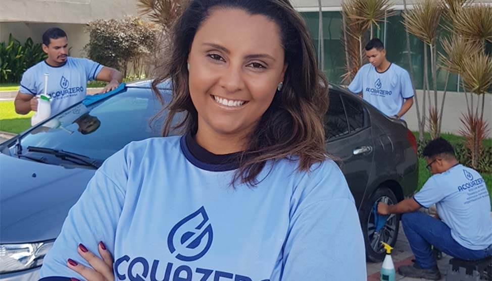 Após fechar duas empresas, paulista investe em franquia de estética automotiva home office em Recife e fatura cerca de R$20 mil por mês